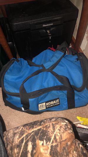 kobalt power tool kit used. for Sale in Front Royal, VA