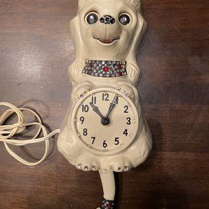 Vintage Antique Collectible Mid Century Poodle Clock for Sale in Surprise, AZ