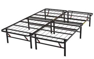 Metal queen platform bed frame for Sale in Charlottesville, VA