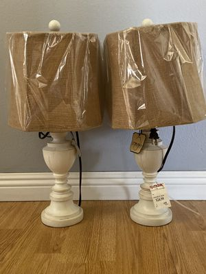 Two Side Lamps for Sale in Long Beach, CA