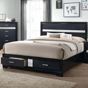 Coaster Furniture Miranda Storage Bed, California King Size, Black for Sale in Santa Ana, CA