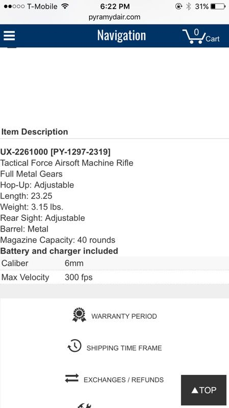 Tactical force tf-7