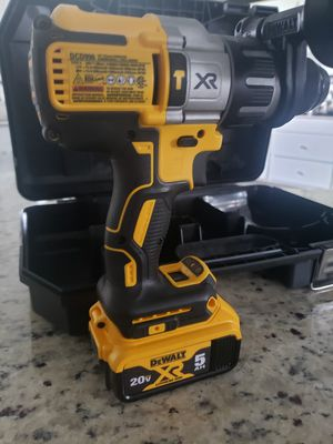 DEWALT 20-Volt MAX XR with Tool Connect Premium Brushless Lithium Ion Hammer Drill/Driver for Sale in Rayne, LA