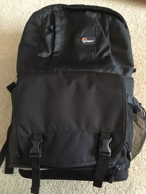 Lowepro Fastpack 350 DSLR camera backpack for Sale in Rochester, NY