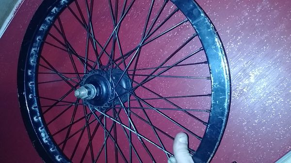 Primo pro front hub and rim