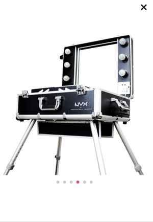 NYX Train Case / Makeup Vanity for Sale in Gilroy, CA