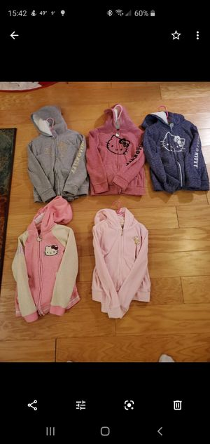 Hello Kitty and Juicy Coutur set of pants and jacket size 7 for Sale in Alexandria, VA