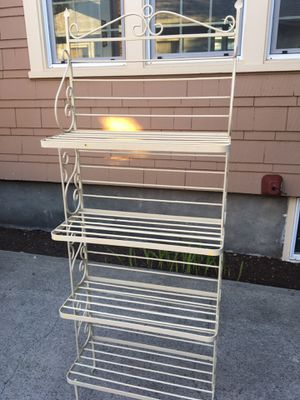 Iron Bakers Rack for Sale in Tacoma, WA