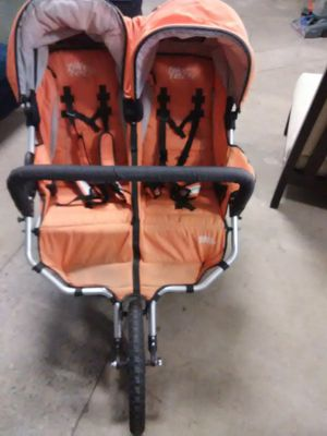 TIKE TECH DOUBLE BABY STROLLER for Sale in Denver, CO