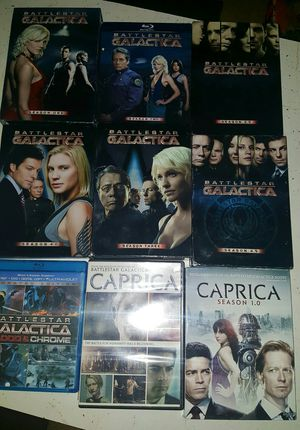 BattlestarGalactica & Caprica Lot Dvds for Sale in Hillsboro, MO