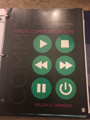 Mass Communications Textbook for Sale in Gambrills, MD