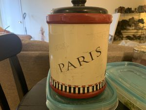 Small decorative storage container for Sale in Beverly Hills, CA