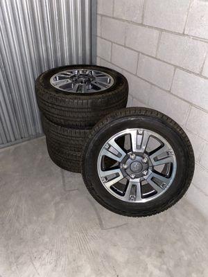 20-in premium wheels and tires. $1,500 OBO for Sale in Scottsdale, AZ