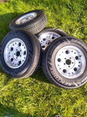 Rims with tires for Sale in Wenatchee, WA