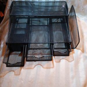 Metallic Desktop Divider Metallic flat Black. for Sale in Bonney Lake, WA