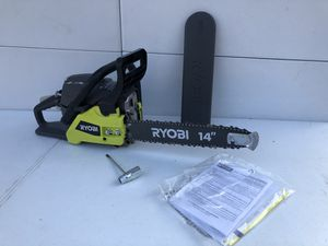 RYOBI 14 in. 37cc 2-Cycle Gas Chainsaw for Sale in Bakersfield, CA
