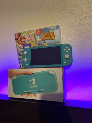 New Switch with 5 Games 🔥🔥🔥 for Sale in Gilbert, AZ