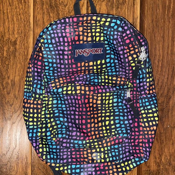 Jansport Backpack Rainbow