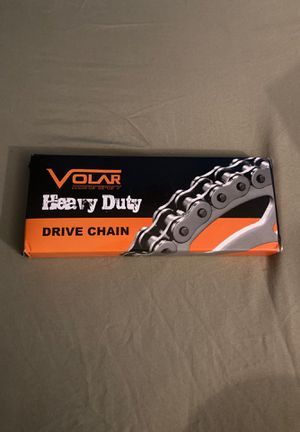 Volar heavy duty drive chain never used got wrong one. size: 420H-112L HD for Sale in Tampa, FL