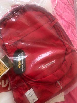 "Supreme Backpack ""SS 19"" - Red for Sale in Woodland Park, NJ"