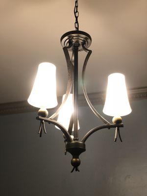 Bronze Tri Light Chandelier for Sale in Washington, DC