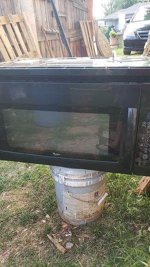 Wirpool microwave for Sale in Oklahoma City, OK