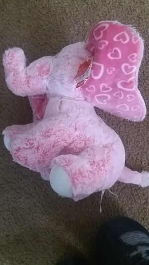 Pink elephant stuffed animal for Sale in CANAL WNCHSTR, OH