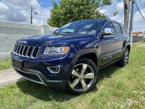 2014* Jeep Grand Cherokee Limited 4X4 SUV 4D (3.6L V6 MPI for Sale in North Miami Beach, FL