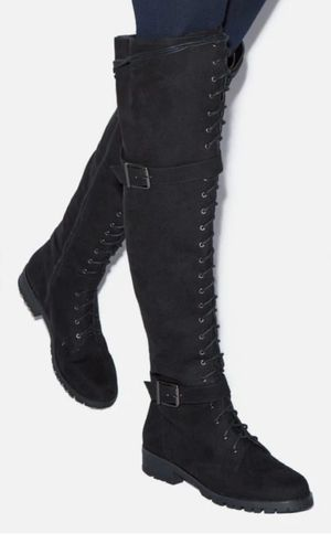 Knee high boots size 7 for Sale in Modesto, CA