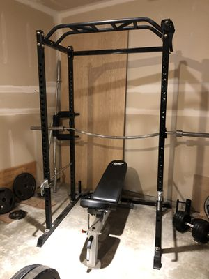 Power rack and bench for Sale in Maple Valley, WA