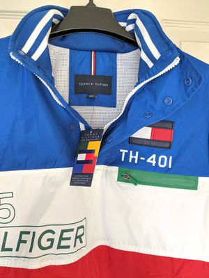 RARE Tommy Hilfiger Limited Archives Collection Retro Waterproof Lotus Anorak Jacket - NEW WITH ORIGINAL TAGS - SMALL for Sale in Gaithersburg, MD
