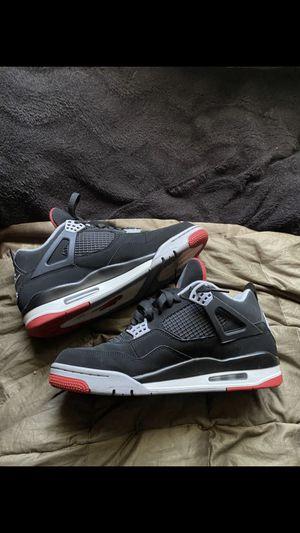 Jordan 4 Bred's Size 10.5 for Sale in Antioch, CA