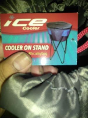 Ice cooler on stand for Sale in Boston, MA
