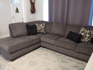 Ashley Grey Sectional Couch for Sale in Murrieta, CA