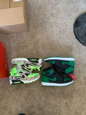 Nike air max 90s and Jordan 1s for Sale in Fresno, CA