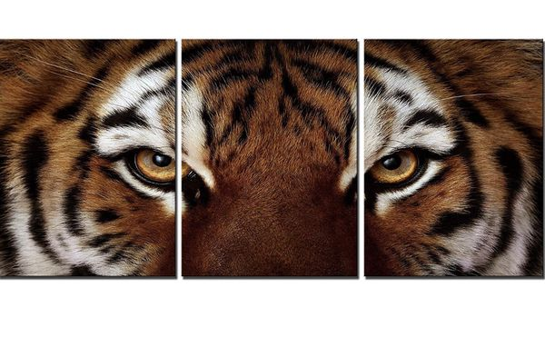 Tiger bed room wall art master piece painting home decor kitchen living room office art work