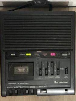 Panasonic RR-930 Desktop Microcassette Transcriber Recorder for Sale in Bellevue,  WA
