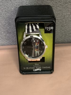 Brand New! Disney Tim Burton's The Nightmare Before Christmas Watch for Sale in Midway City, CA