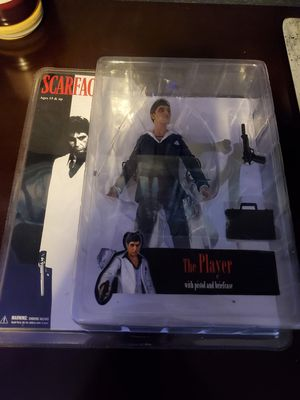 Scarface 7 the Player In black Suit Action Figure for Sale in Denver, CO