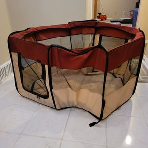 Foldable Dog Playpen for Sale in Salem, OR