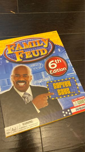Family Feud Board Game for Sale in Fort Worth, TX