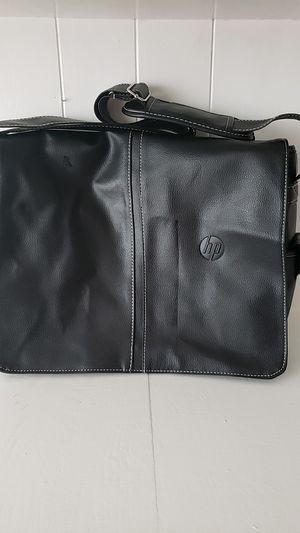 Leather HP laptop bag for Sale in Cypress, TX