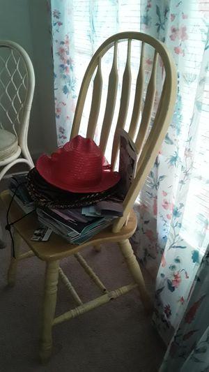 Wood Chair for Sale in Dublin, GA