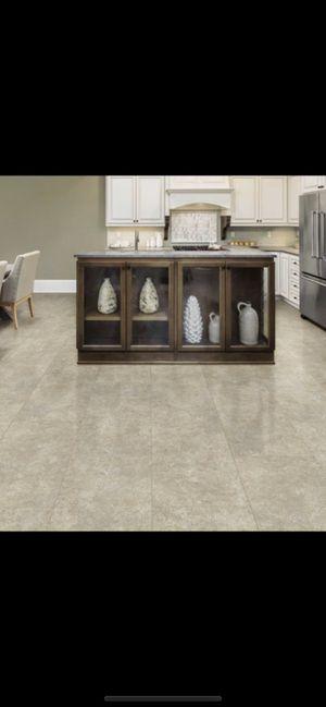 Life proof breezy stone luxury vinyl plank flooring for Sale in Phoenix, AZ