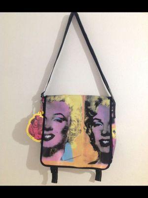 Marilyn Monroe Messenger Bag/Purse Book Bag By Andy Warhol for Sale in Orange, CA