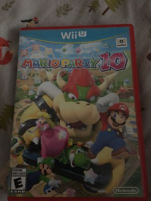 Mario party 10! Wii U edition for Sale in Spring Valley, CA