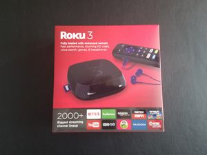 Roku 3 Streaming Box for Sale in Traverse City, MI