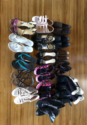 17 pairs of shoes, boots for Sale in Huntington Beach, CA