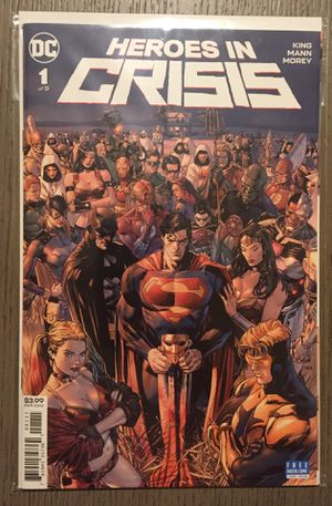 DC - Heroes In Crisis (collection 1-9) for Sale in Pico Rivera, CA