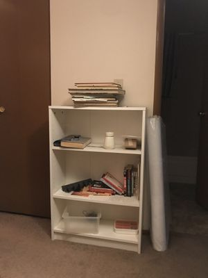 White book case for Sale in Portland, OR